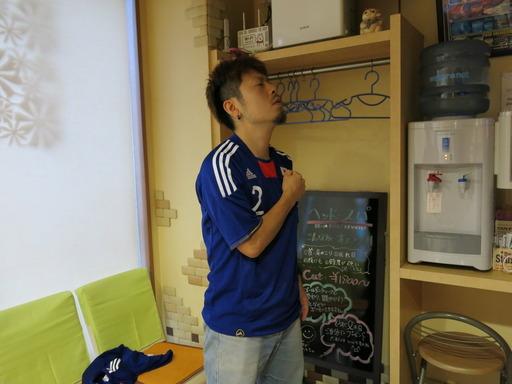 W杯 グループC 日本代表