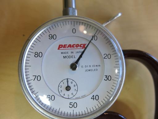 PEACOCK 測量器