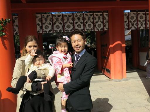 七五三 氷川神社