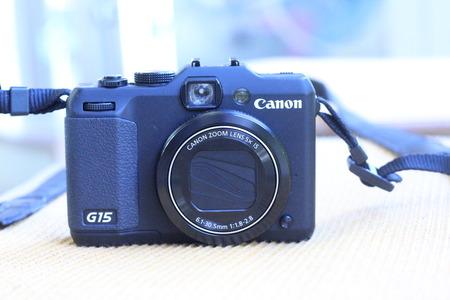 CANON パワーショット G15