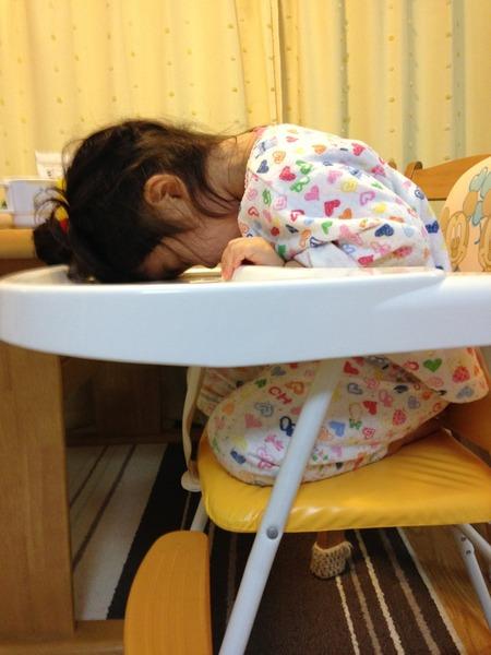 居眠り 写真