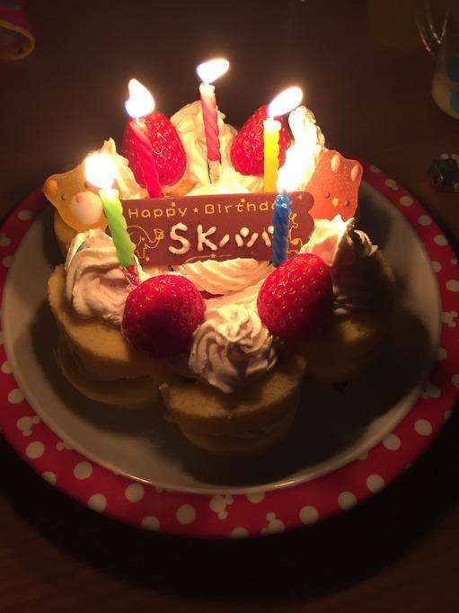誕生日 ケーキ 子供と作る ロールケーキ
