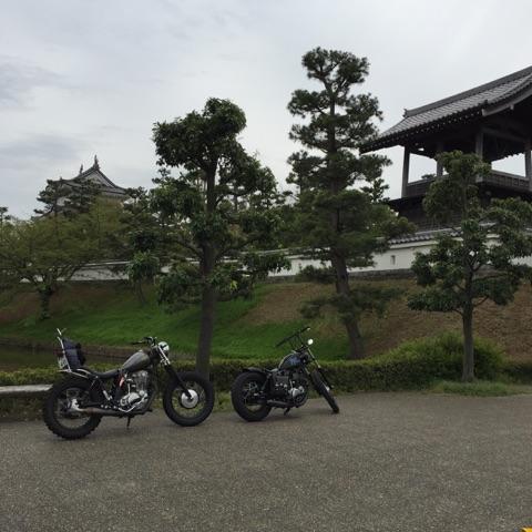バイク 埼玉 忍城 城 ツーリング 佐野ラーメン 万里