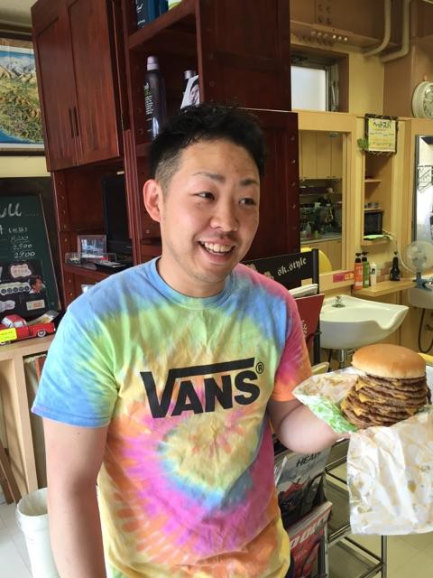 ロッテリア 10段 ハンバーガー 大成 植竹 ウイング 大宮