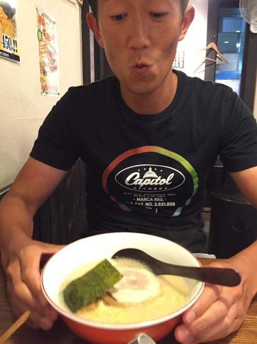 百歩ラーメン 大宮 美味い 旨い 替え玉