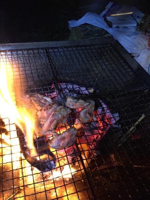SR キャンプ BRATSTYLE BBQ テント CAMP 野田スポーツ公園
