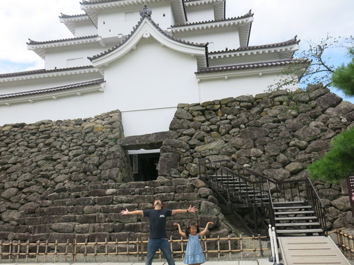 会津 鶴ヶ城 飯盛山