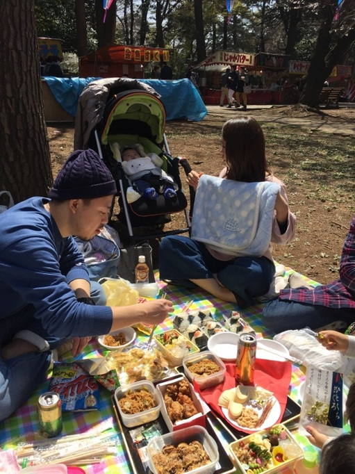 大宮公園 花見 2017