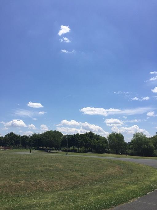 大宮 第三公園 日向ぼっこ