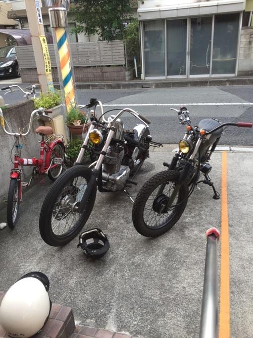 さいたま市 大宮 床屋 刈り上げ ジェル グリース カッコいい アメリカン 理容店 バイク ハーレー