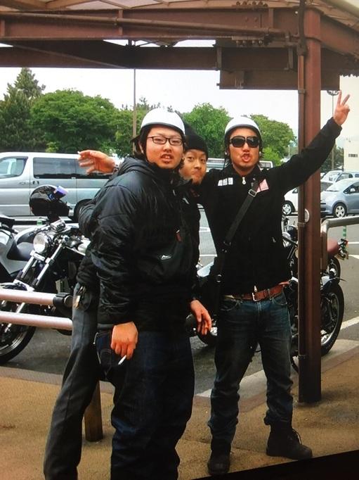 SR400 カスタム 餃子RUN みんみん 宇都宮
