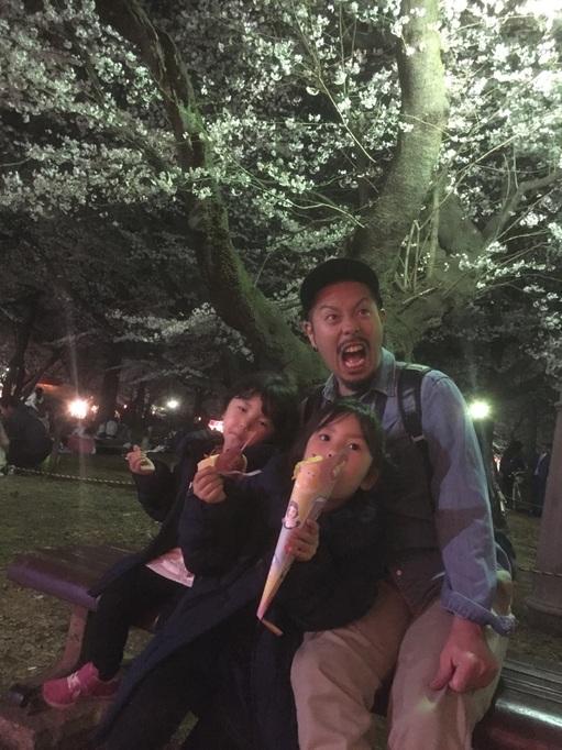 大宮公園 夜桜 2018