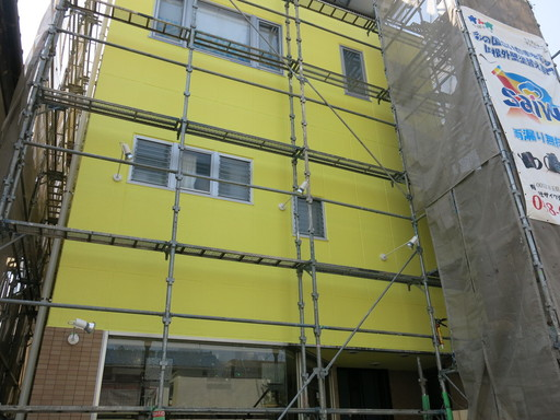 カットハウスウイング 床屋 さいたま市 北区 植竹 塗装 サイワ塗装工業 西区 防水工事 理容室