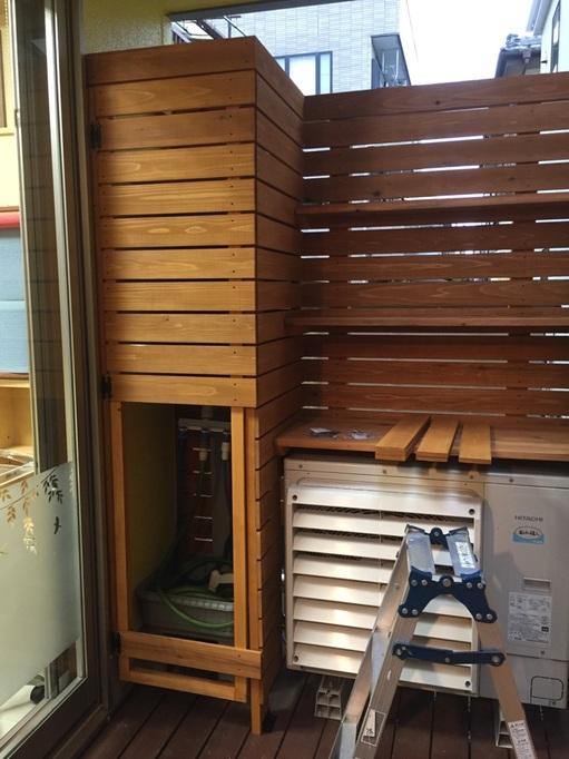 ダットサン620 埼玉 さいたま ウイング 本間工務店 ウッドデッキ 工事 西海岸