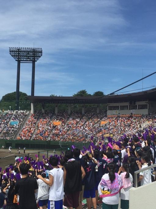 大宮県営球場 浦和学院 2018 夏