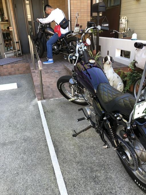 BRATSTYLE FUNNY チョッパー ウイング 床屋 バイク ブラット カッコイイ